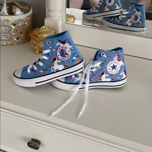 Brand new high top converse unicorn sneakers